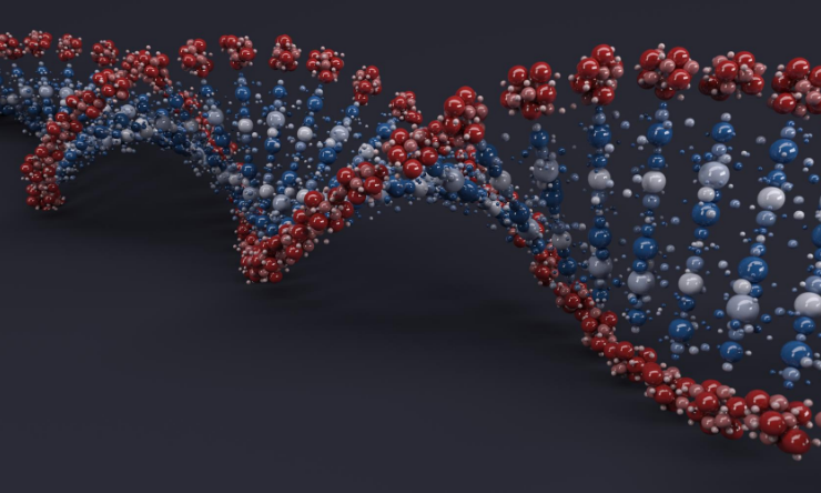 Image of DNA helix