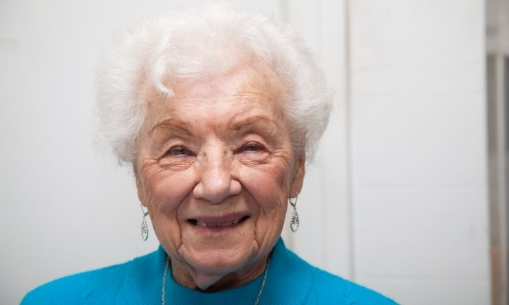 Image of 89 year old woman