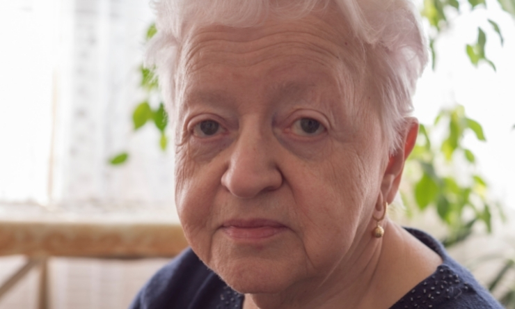 Image of 80 year old woman
