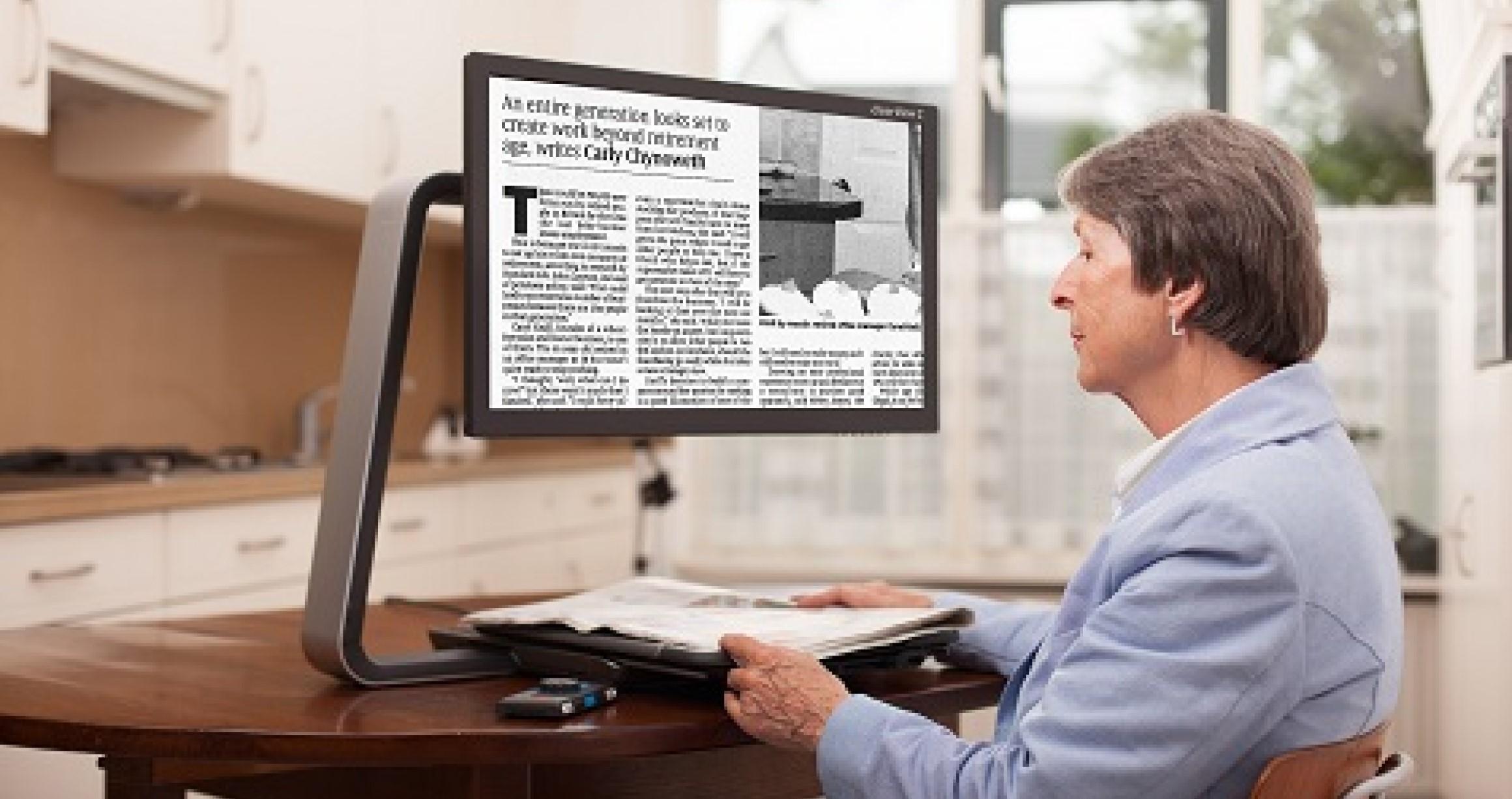 Desktop video magnifiers