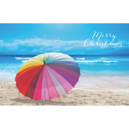 Beach Christmas image